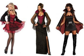 Sexy Vampiress halloween costumes