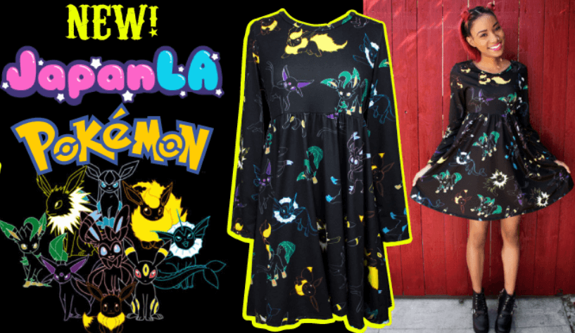 Japan LA Pokemon Alternative Clothing
